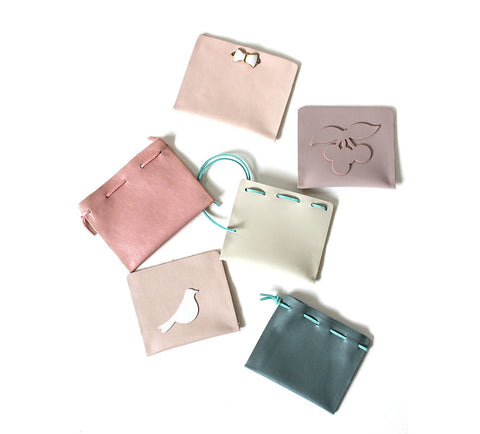 DIY Chic Leather Pouch