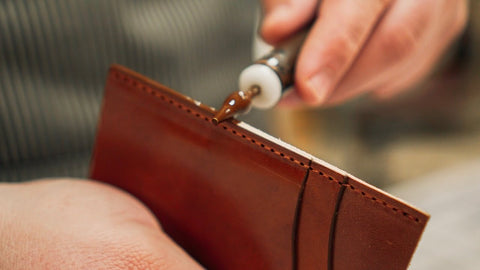Burnishing The Edges Of Your Leather