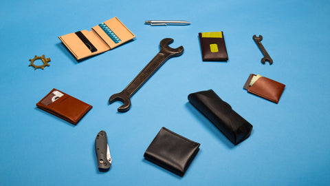 Leather Scraps To Beautiful Leather Fobs