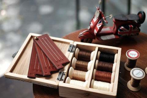leather stitching thread collection