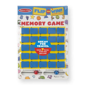 Flip-to-Win Memory Travel Game