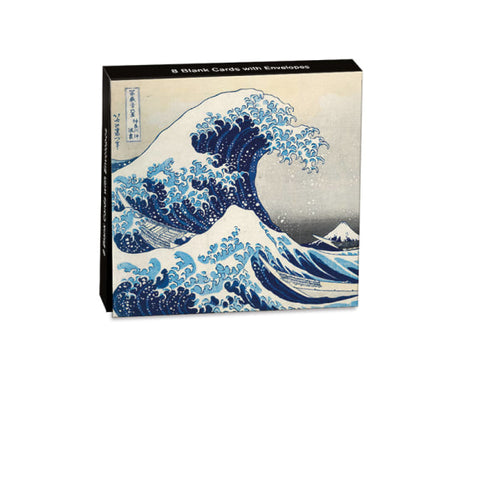Mini Notecard Wallet - The Great Wave