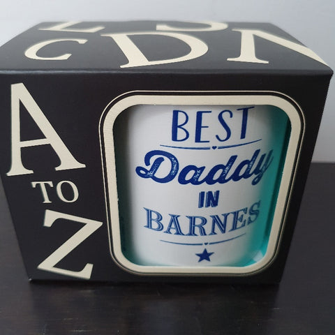 Best Daddy in Barnes Mug