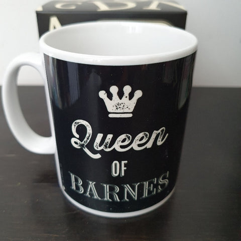 Queen of Barnes Mug