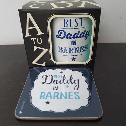 Best Daddy in Barnes Coaster