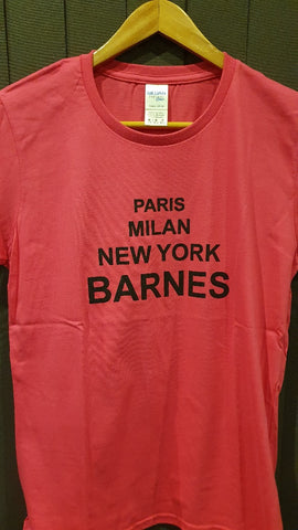 Barnes Ladies Fitted T-Shirt