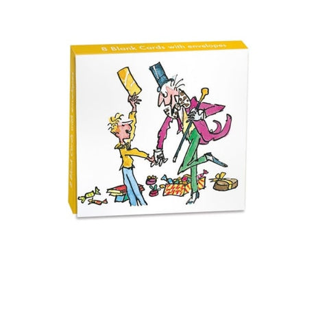 Mini Notecard Wallet - Charlie & The Chocolate Factory