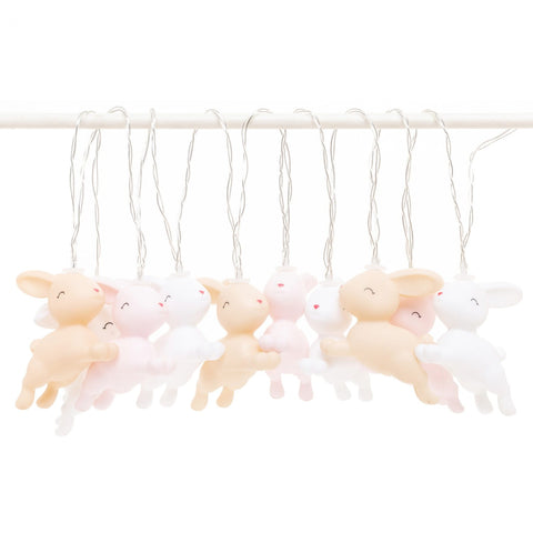 Dhink Led String Lights Mixed Coloured Pastel Bunnies