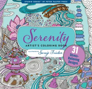 Serenity Colouring Book