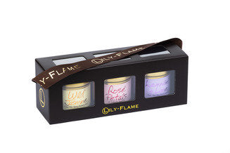 Floral Mini Tin Candles Gift Set