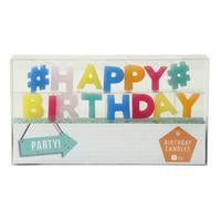 Party Time 'Happy Birthday' Candle