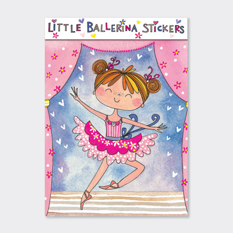 Sticker Book - Little Ballerina
