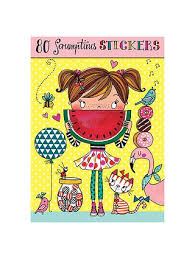 80 Scrumptious Stickers
