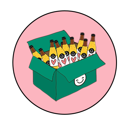 Drink happy delivery