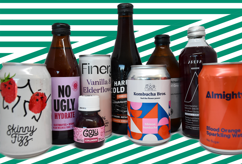 Bored of water? We've handpicked NZ's best selection of local no and low sugar drinks for you. Delivered to your door.