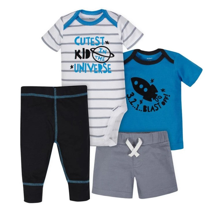 Gerber Boys Pants/Short Set