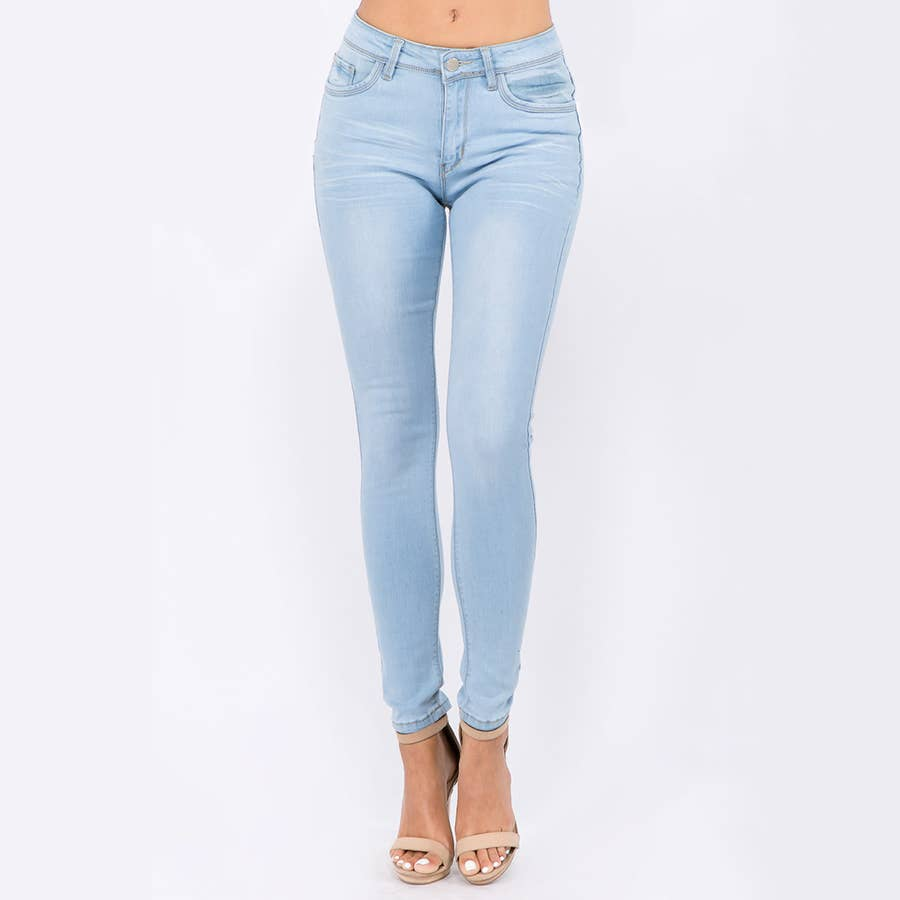 Low Waist Basic Skinny Jeans