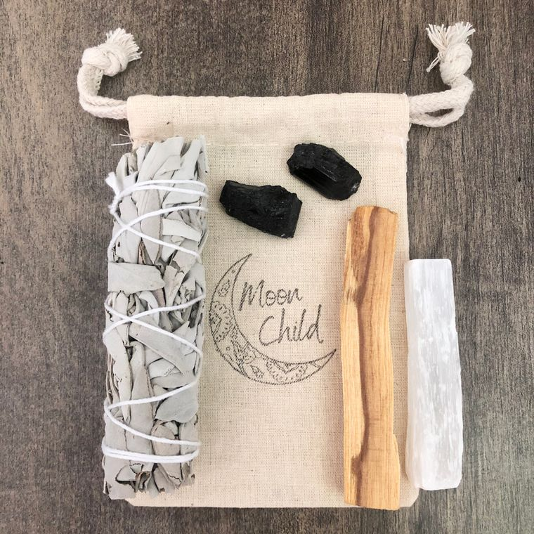 Purification & Protection Smudging & Clearing Kit