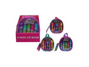 Hatchimals And Shopkins 5 Pk Lip Balm