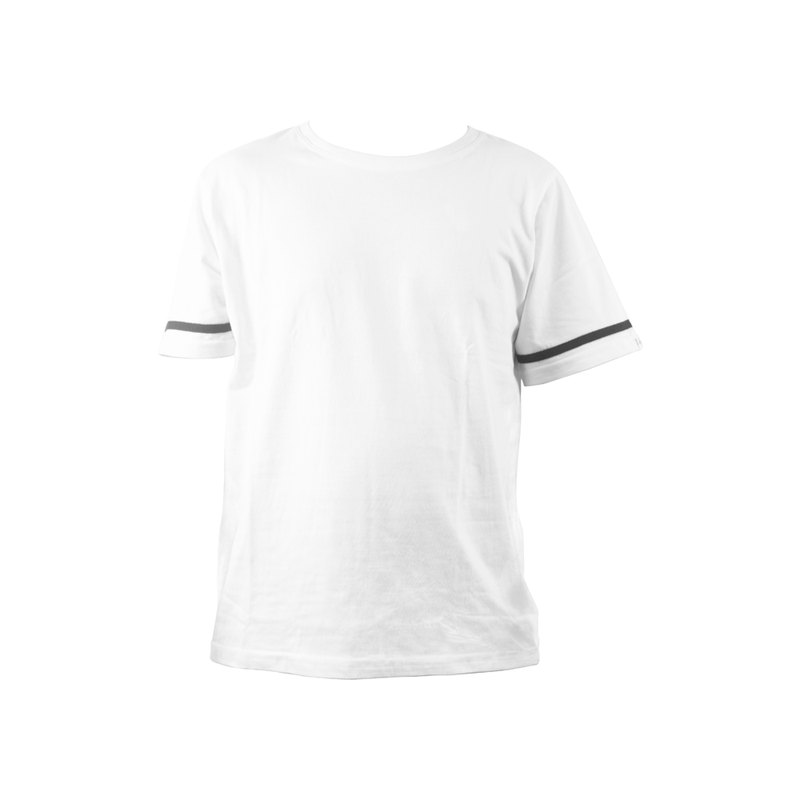 Solid Casual Men Round Neck Tops Cotton  Short Sleeve T-shirt O-neck Blouse