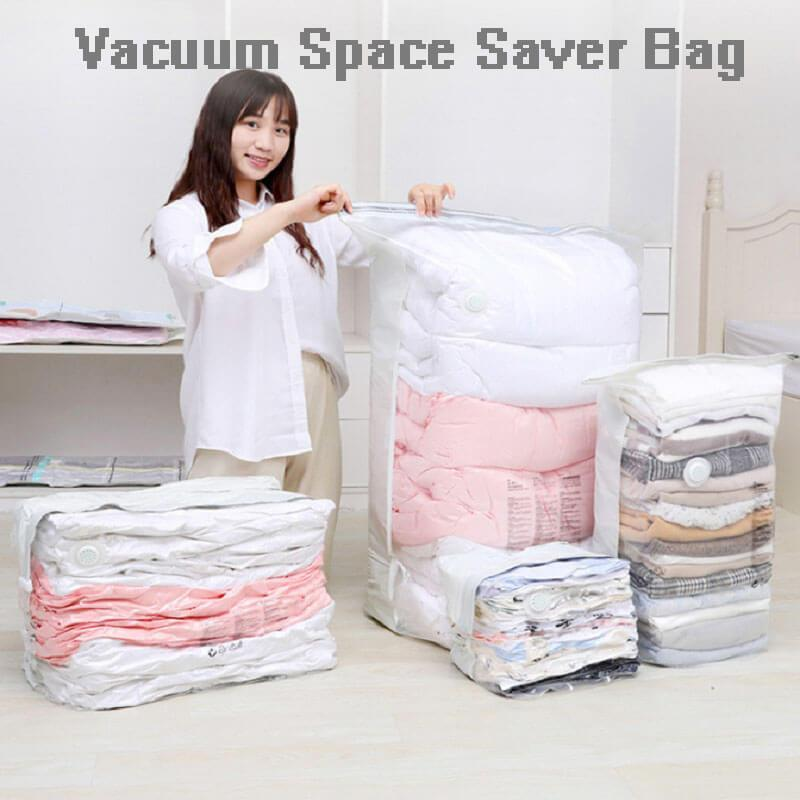 No-Pumping Vacuum Compression Bag