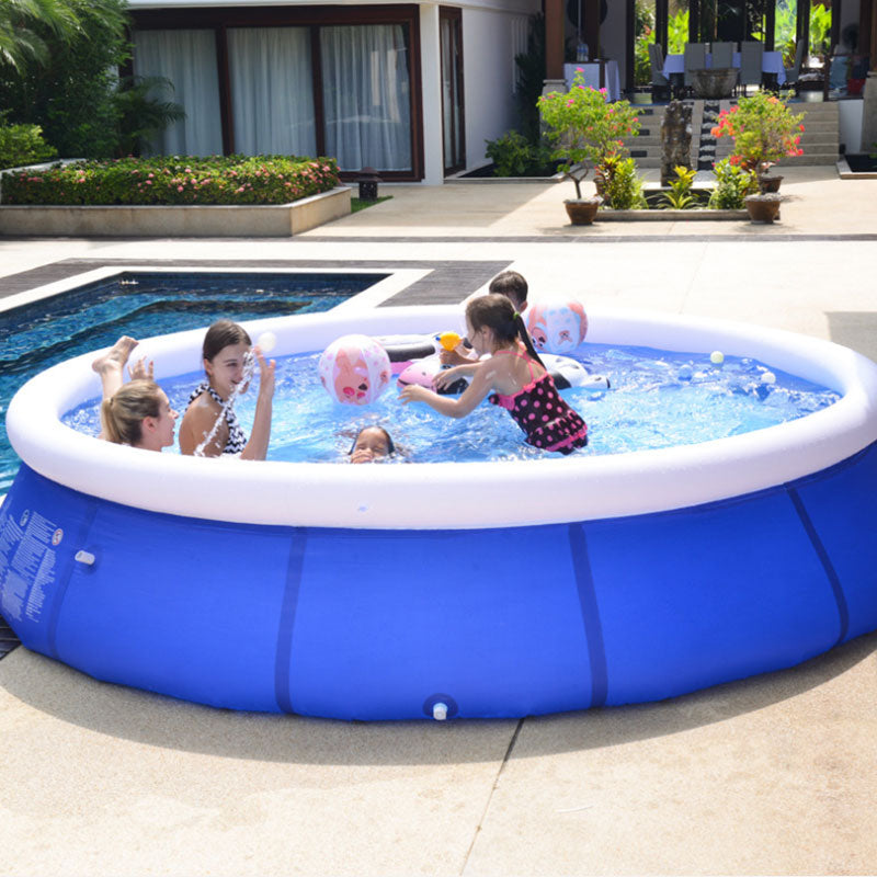 (low stock) Large Inflatable Swimming Pool (Free send an electric air pump!)