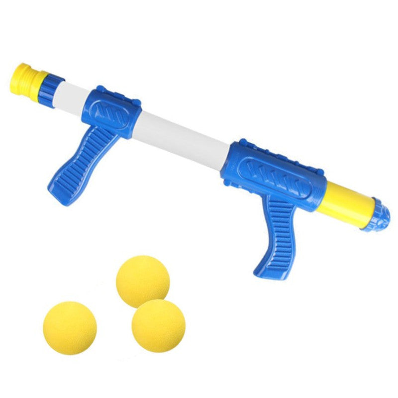 Kids Foam Ball Gun Shooting Game Toys Children Indoor Interactive Air Pump Duck