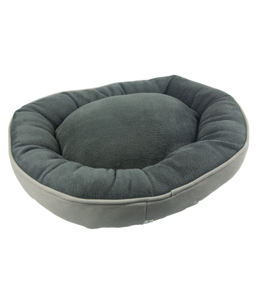 Anti-slip Oval Dog Bed Water-resistant Cat Sitting Mat Outdoor Travel Pet Cushion