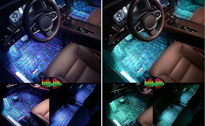 The last day-Car Interior Ambient Lights(Contains four light bars)