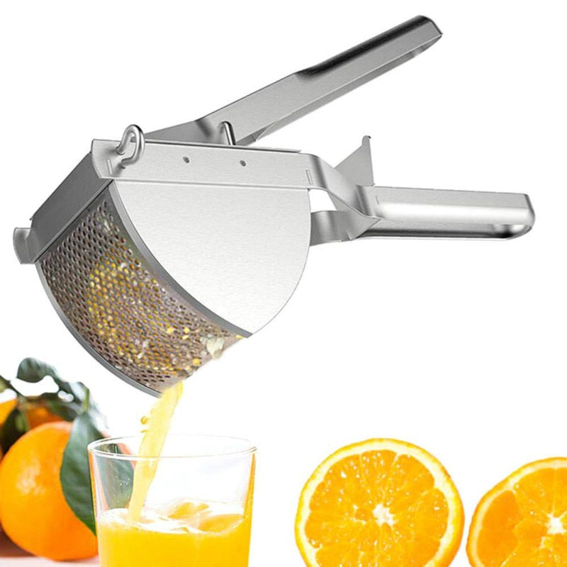 Hand Manual Potato Masher Ricer Fruit Puree Fruit Juicer Maker Press Kitchen Accessories