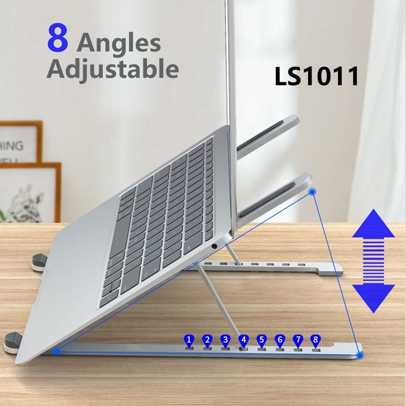 Foldable Laptop Stand Notebook Holder Desk for 7-15 inch Macbook Pro Air