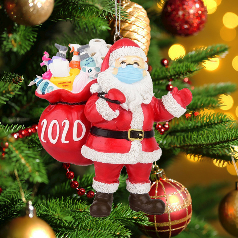 【Only 100 orders left】Christmas decorations 2020 survivor Christmas tree pendant