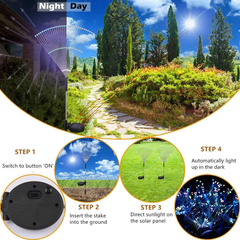 🔥Limited Time Big Sale🔥-Waterproof Solar Fireworks Lamp