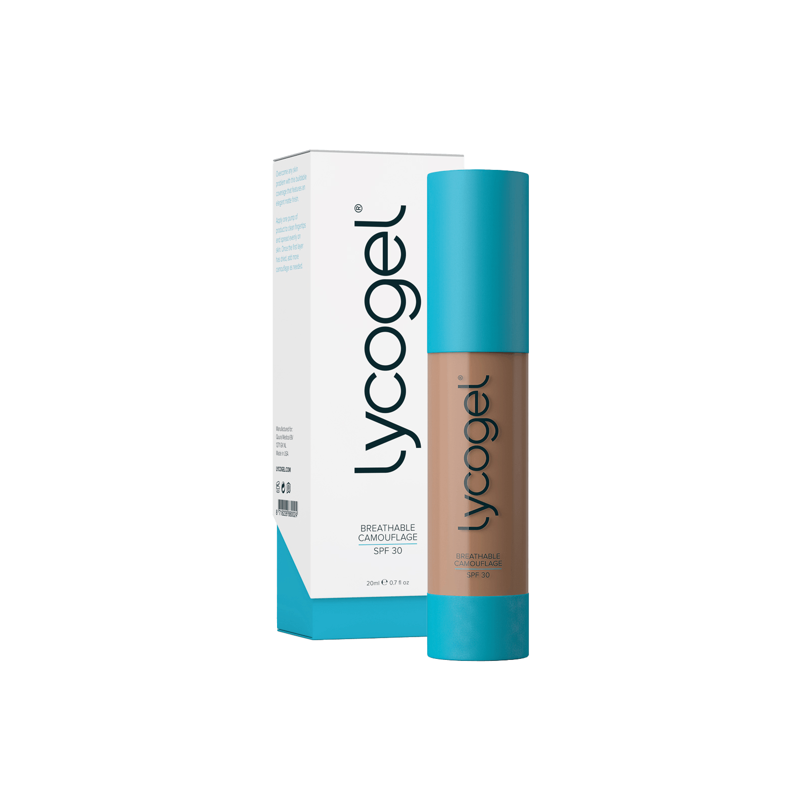 Lycogel - Lycogel Breathable Camouflage | Amber - DANYCARE