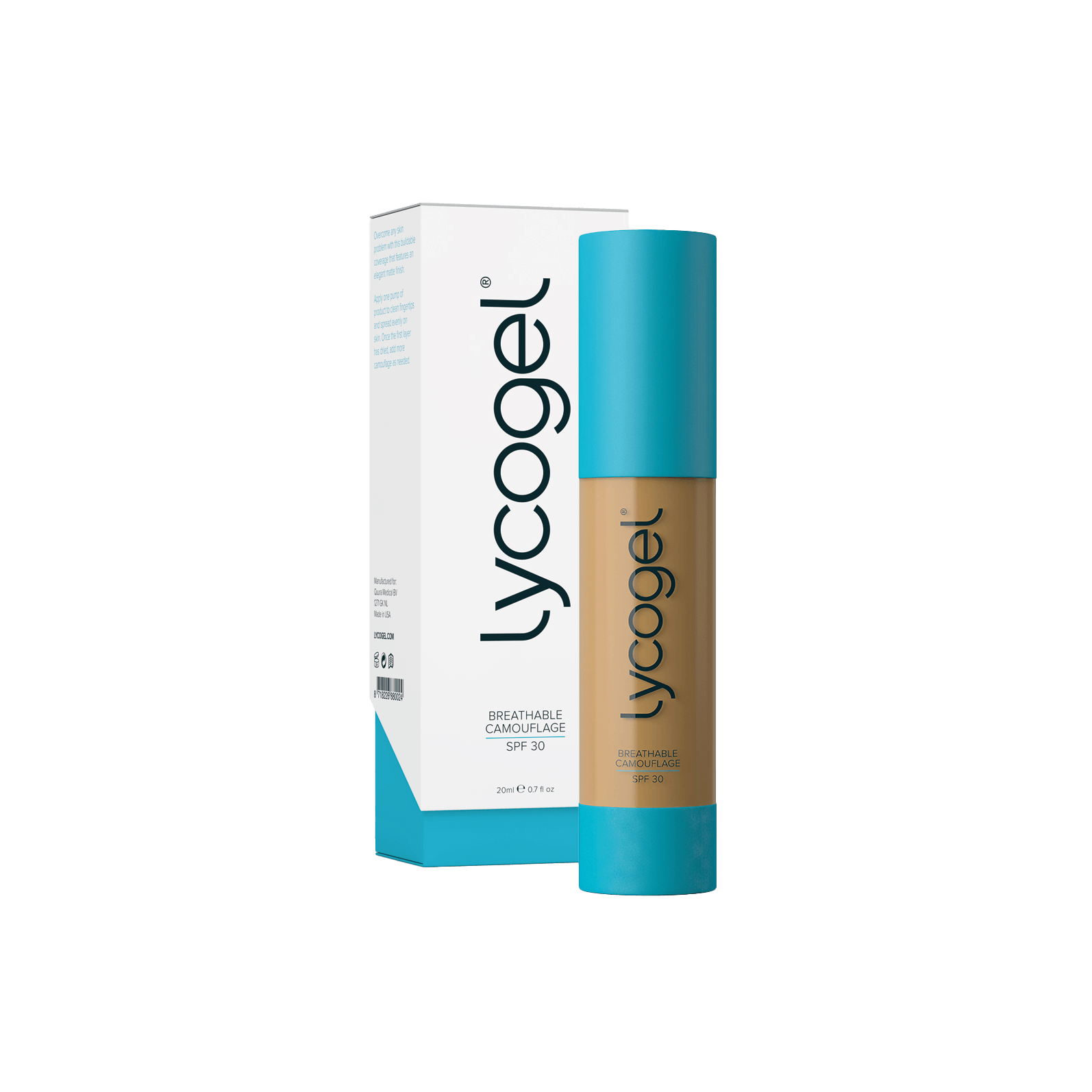 Lycogel - Lycogel Breathable Camouflage | Caramel - DANYCARE