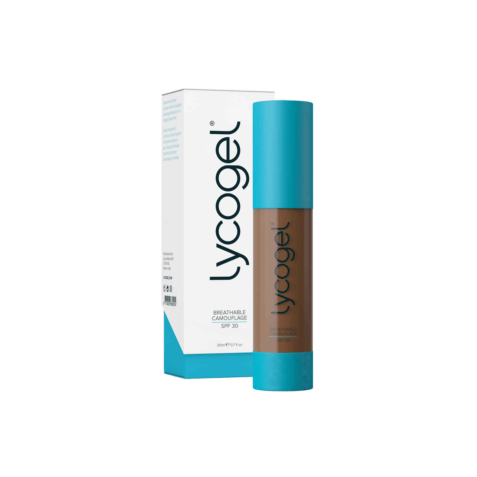 Lycogel - Lycogel Breathable Camouflage | Cocoa - DANYCARE