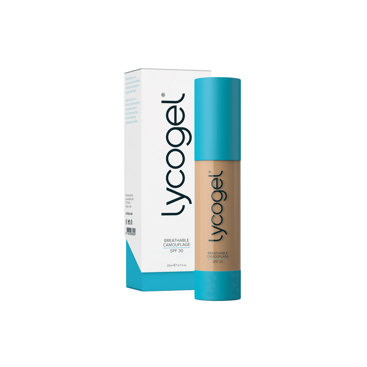 Lycogel - Lycogel Breathable Camouflage | Pearl - DANYCARE