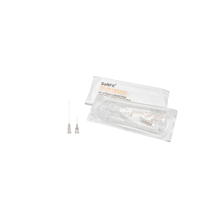 SoftFil - SoftFil PRECISION Mikrokanüle 27G 40mm Single Kit - DANYCARE