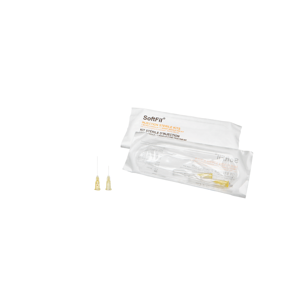 SoftFil - Softfil PRECISION Mikrokanüle 30G 25mm Single Kit - DANYCARE