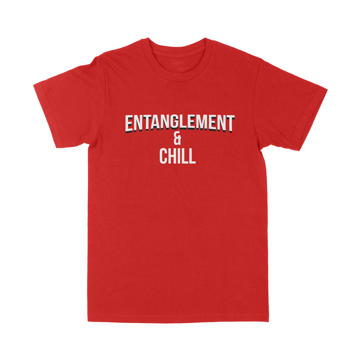 Entanglement & Chill Red T-Shirt