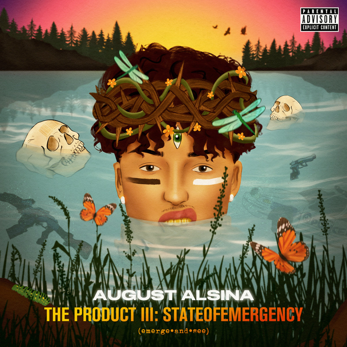 August Alsina - The Product III: stateofEMERGEncy CD + Digital DL