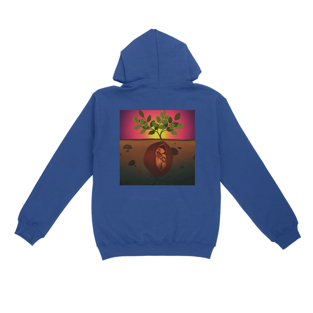 Emerge & See Blue Hoodie + Download