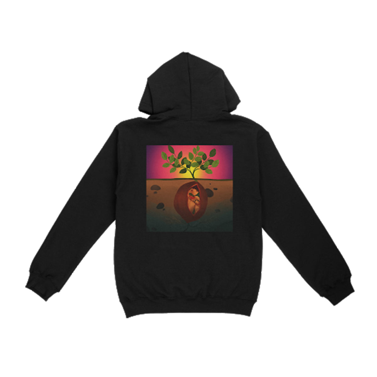 Emerge & See Black Hoodie + Download