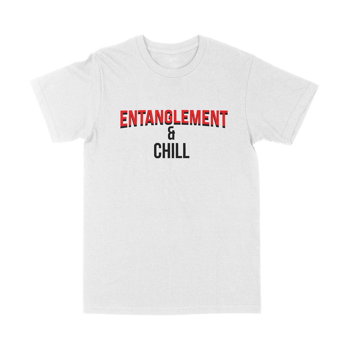 Entanglement & Chill White T-Shirt