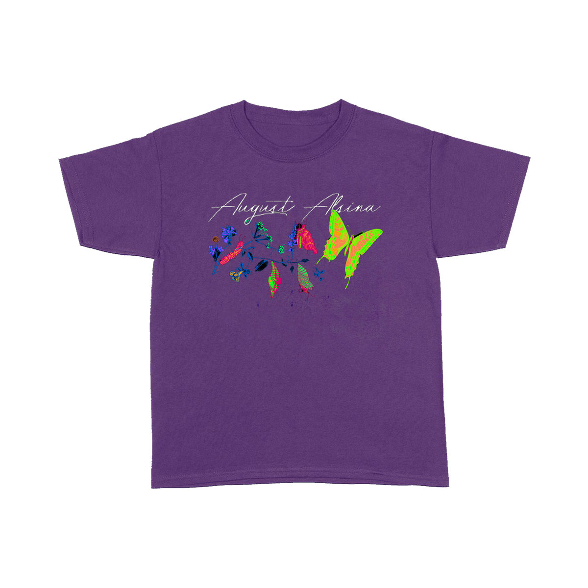 Transitions Purple T-Shirt + Download