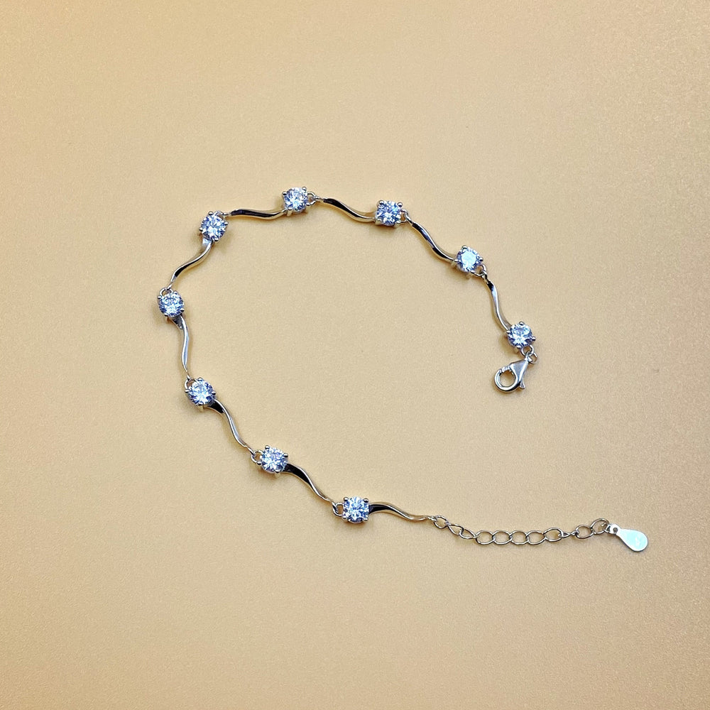White Gem Chain