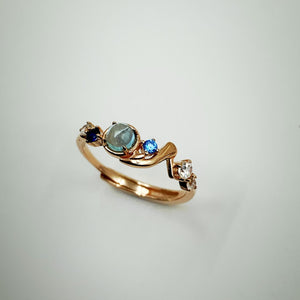 Blue Princess Ring