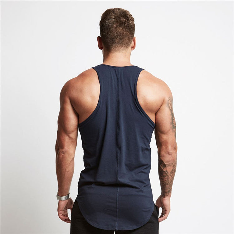 Casual Tank - Navy - Gopositivo.co