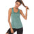 Sleeveless Tank Top - Ocean - Gopositivo.co