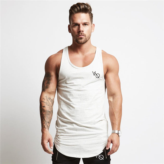 Casual Tank - White - Gopositivo.co